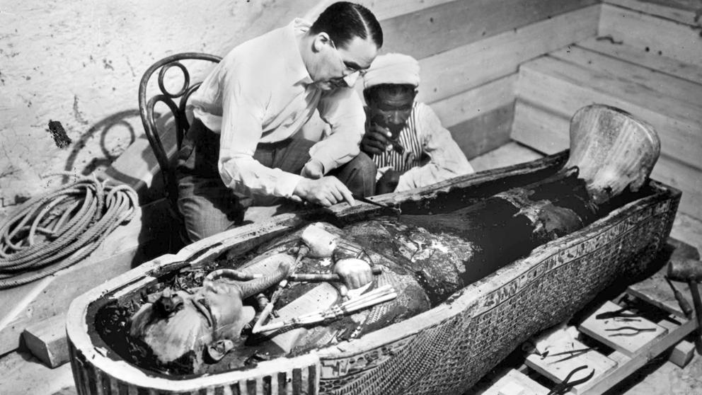 Fiesta Temática en el Museo Marca de Cacabelos dedicada a Howard Carter 1