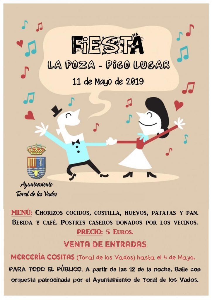 Fiesta en los barrios de La Poza y Pico Lugar de Toral de los Vados 1