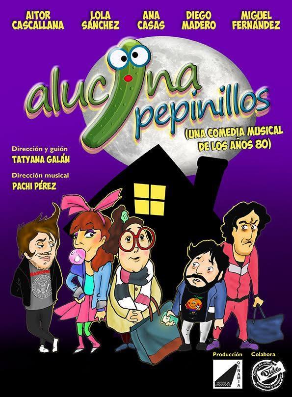 El grupo Dinamia, lleva este sábado a Cubillos del Sil la comedia: Alucina pepinillos 1