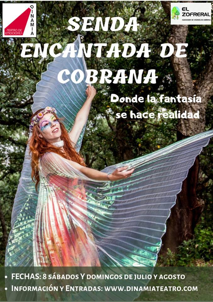 Ya a la venta las entradas para las representaciones de la 'Senda encantada de Cobrana' de este verano 1