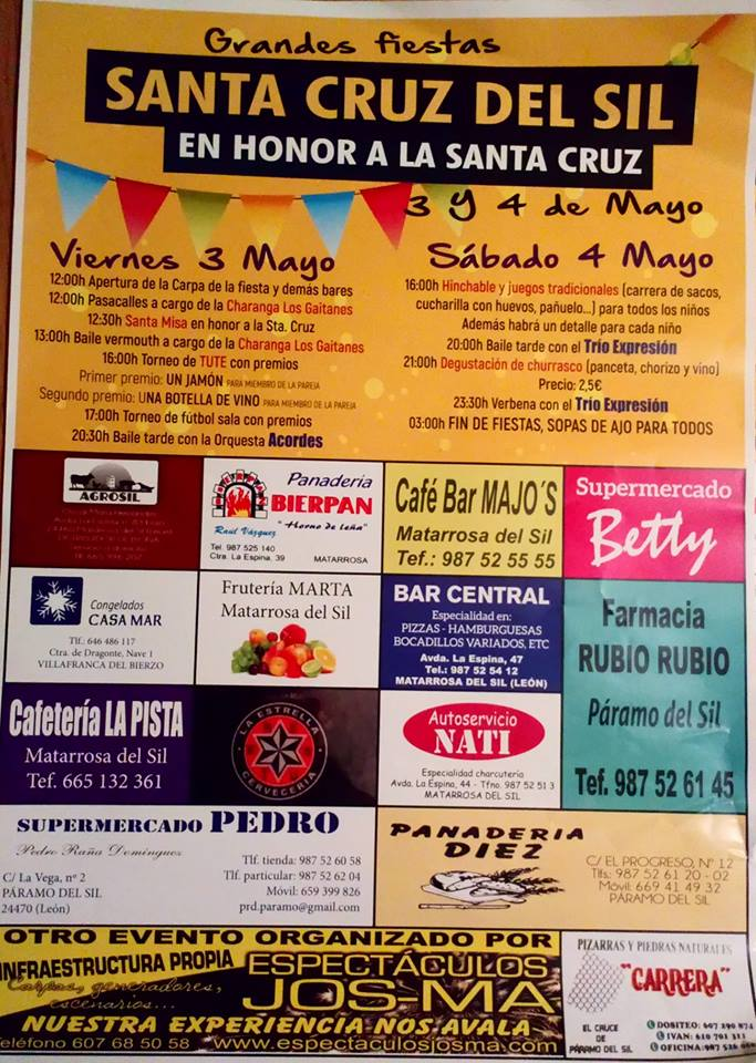Grandes Fiestas en honor a la Santa Cruz en Santa Cruz del Sil 1