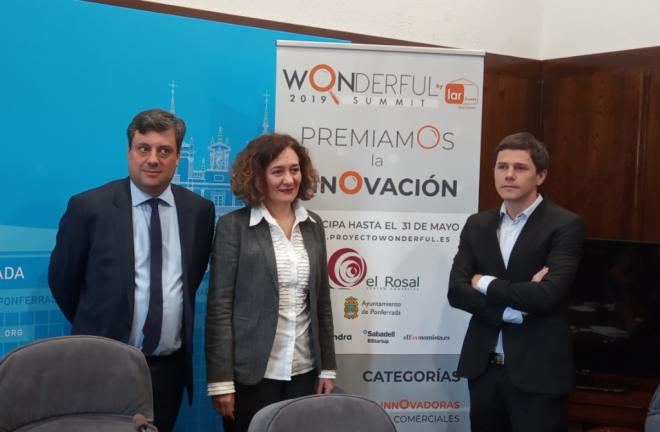 """El Centro Comercial El Rosal y el Ayuntamiento de Ponferrada presentan la tercera edición del Concurso de Innovación """"Wonderful"""" 1"""