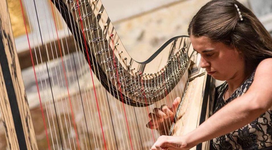 Concierto de arpa de Noelia Cotuna en la temporada de Juventudes Musicales 1