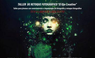 Taller de retoque fotográfico El ojo creativo en el Consejo de la juventud de Ponferrada 2