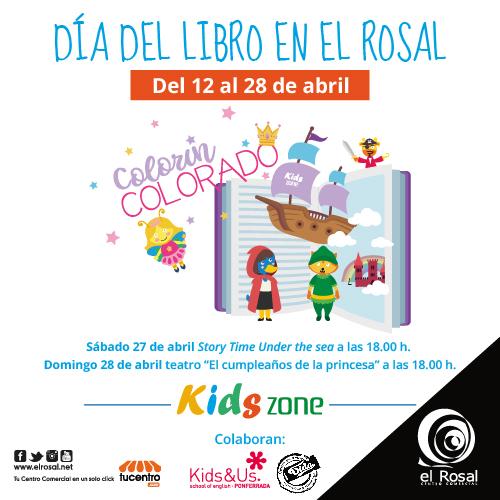 El Centro Comercial El Rosal celebra el Día del Libro con un taller muy especial en la Kids Zone de Fun Play Area. 1