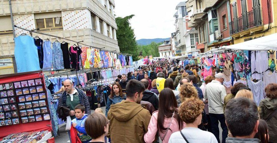 Feria de la Cruz de mayo 2019 en Cacabelos 1