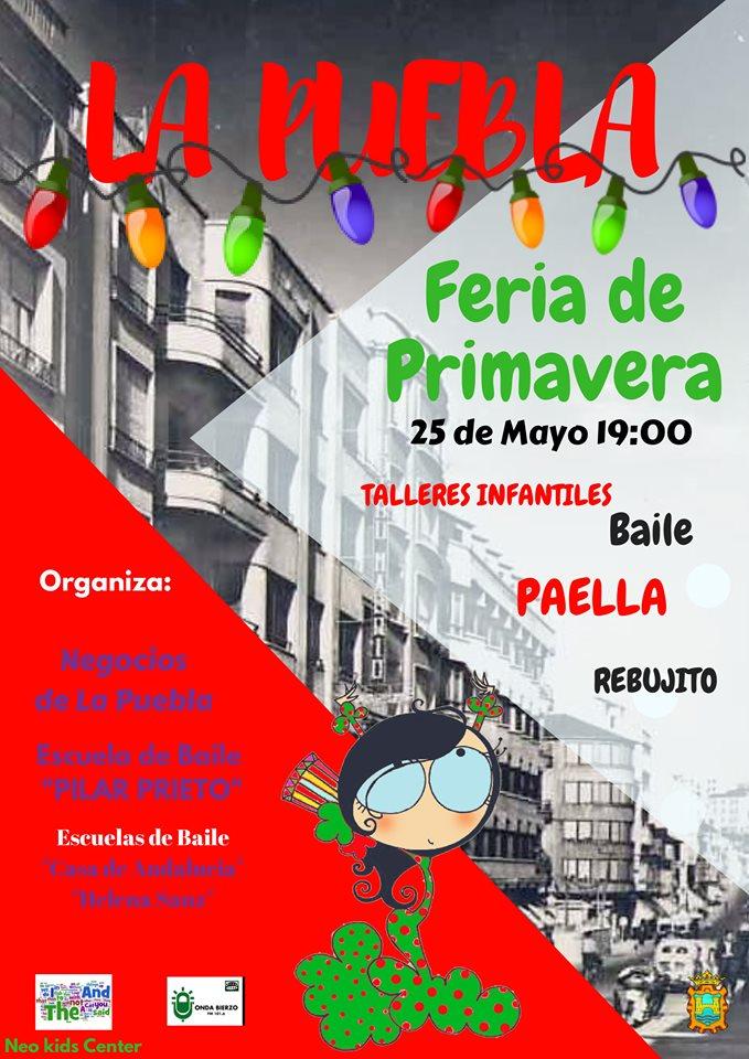 Los comercios de Avenida de la Puebla reciben la primavera con una fiesta 1