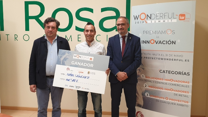 La Startup de Ponferrada We Safe, ganadora de la tercera edición del concurso de Innovación Wonderful 1