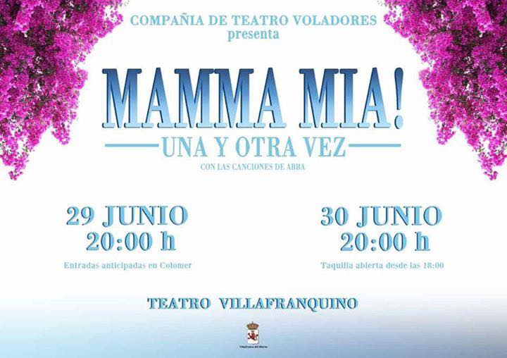 El teatro villafranquino recibe un homenaje a Abba '¡Mamma Mía! Una y otra vez' 1