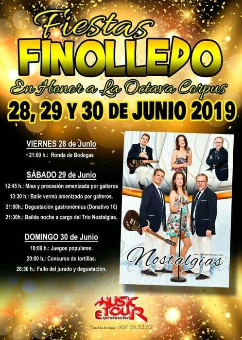 Fiestas en Finolledo , 28, 29 y 30 de junio 2019 1