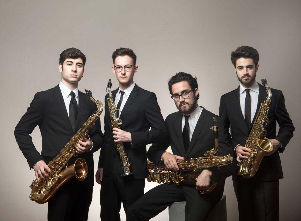 El cuarteto de saxofones Psaiko Quartet cierra la temporada de conciertos de Juventudes Musicales 1