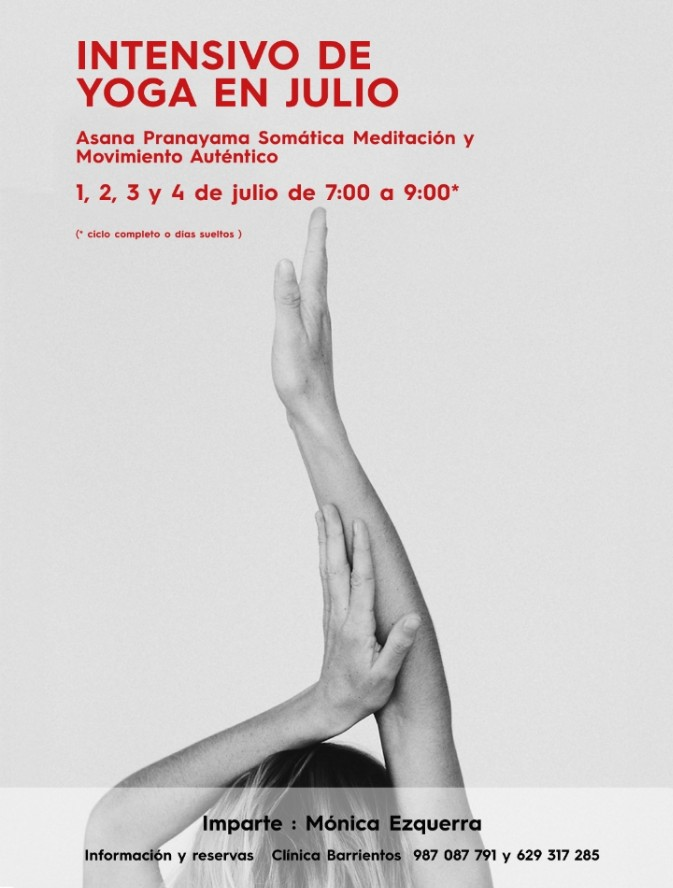 La Clínica Barrientos organiza un curso intensivo de Yoga el próximo mes de julio 1