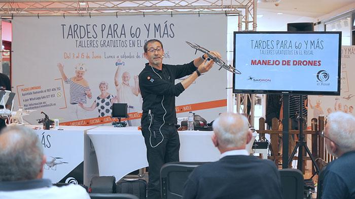 """Las """"Tardes para 60 y más"""" continúan esta semana llenando El Rosal de talleres, entretenimiento y diversión. 1"""
