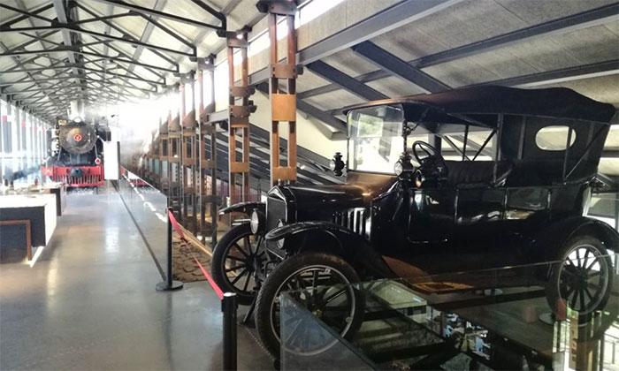 Un Ford Modelo T se expone en el Museo de la Energía 1