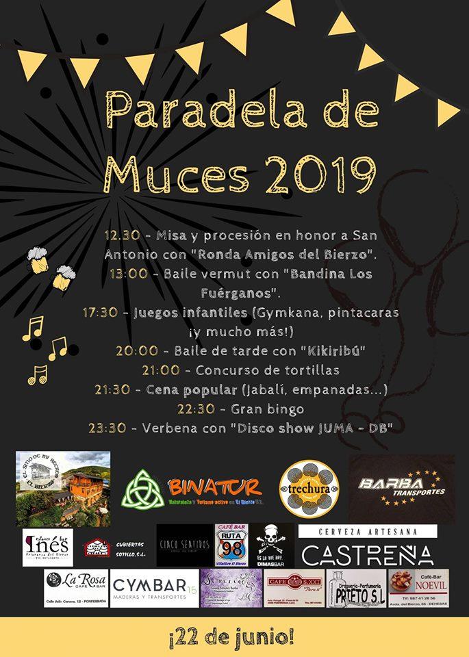 Grandes fiestas en Paradela de Muces 2019 1
