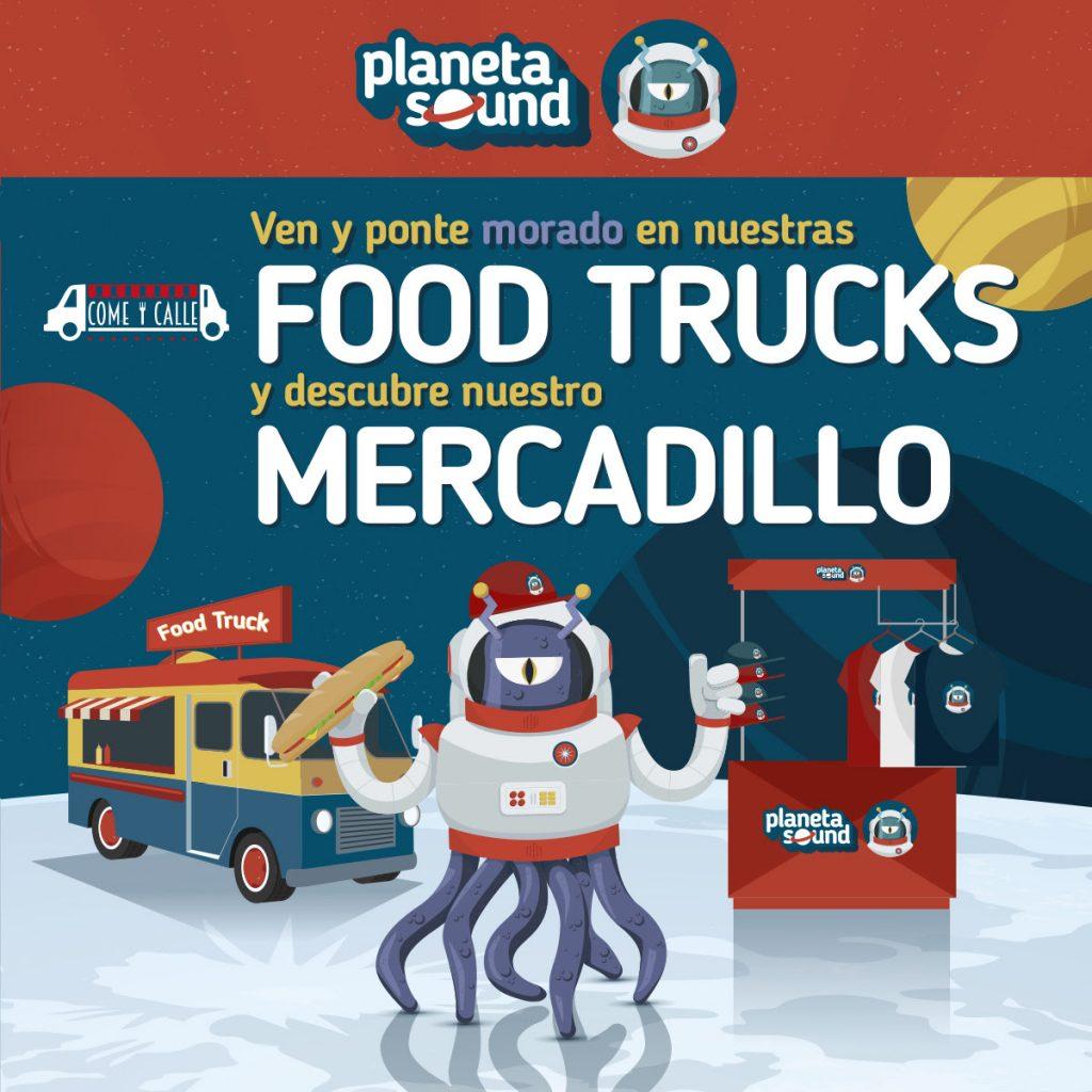 Come y Calle aterrizará con sus mejores propuestas gastronómicas en Planeta Sound. 1