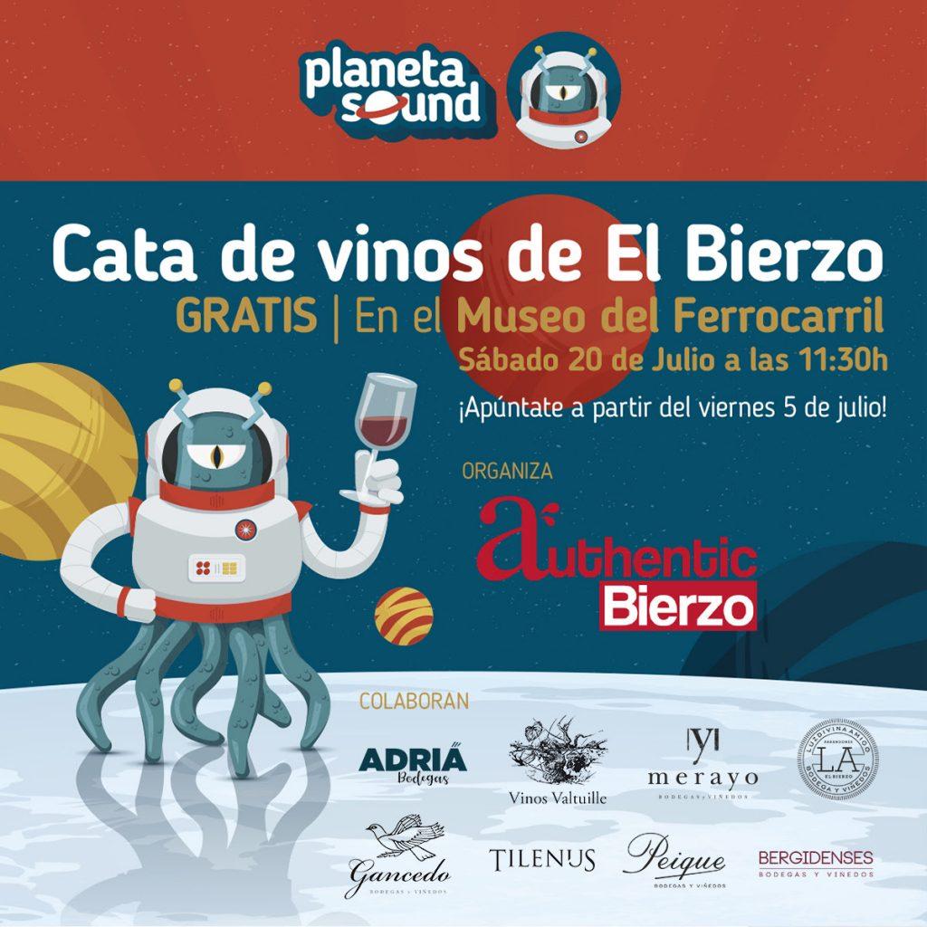 Cata de vinos y accesos gratuitos a los museos de Ponferrada durante el Planeta Sound. 1