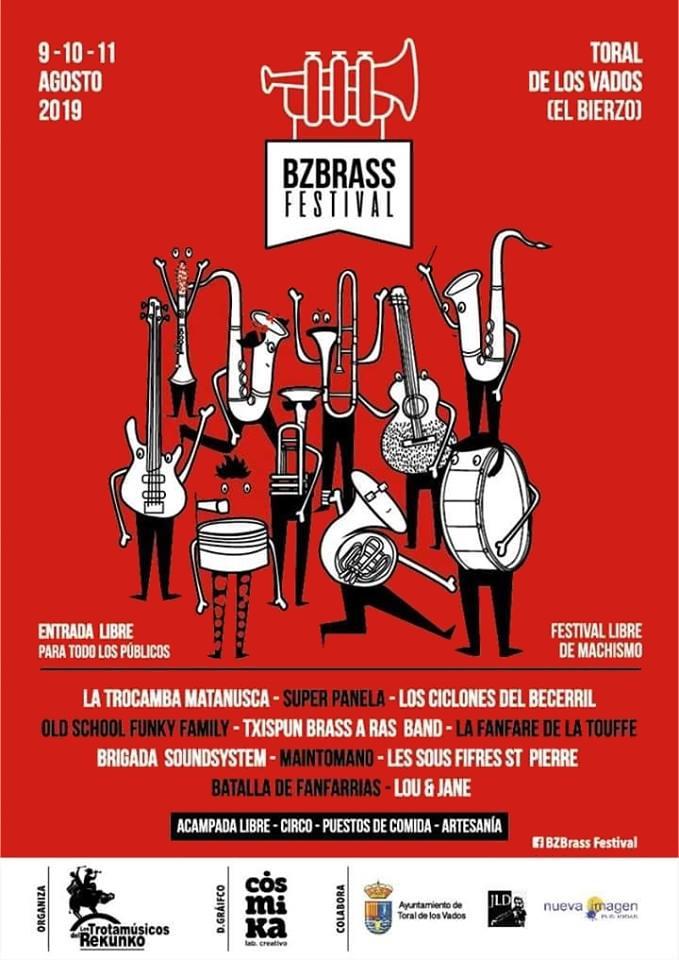 BZ BRASS FESTIVAL. 9, 10 y 11 de agosto en Toral de Los Vados 1