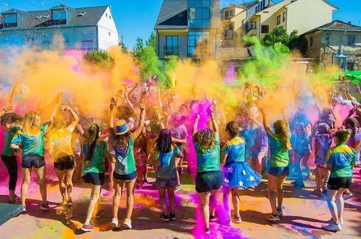 Toreno organiza la Gymkana de color más divertida del verano 1