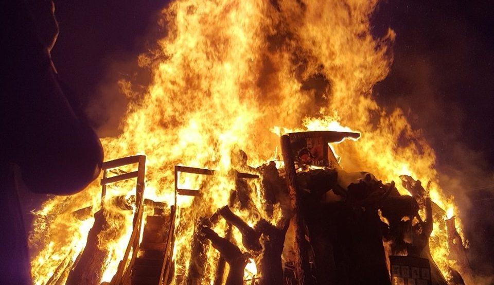 La catedral del 🔥Fuego🔥 de San Juan de la Mata arderá este sábado 1