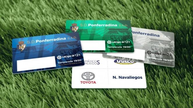 El martes 16, podrás recoger tu carnét de la SD Ponferradina para la temporada 19/20 1