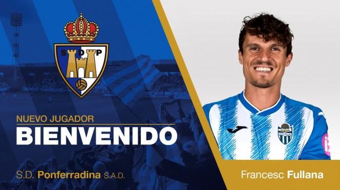 El centrocampista Francesc Fullana se incorpora a la Ponferradina 1