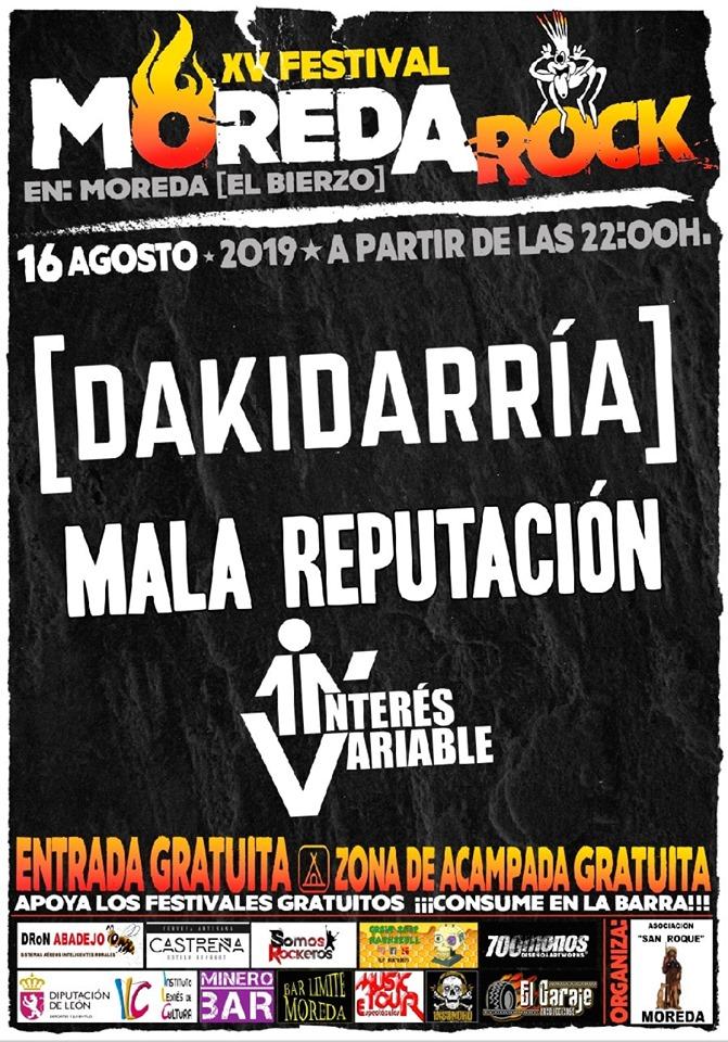 Moreda celebra el XV Festival de Rock 1