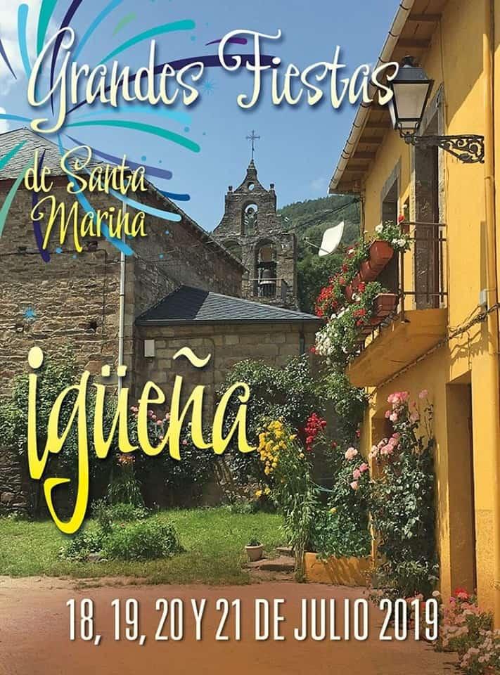 Grandes fiestas de Santa Marina en Igüeña. 18, 19, 20 y 21 de julio 1