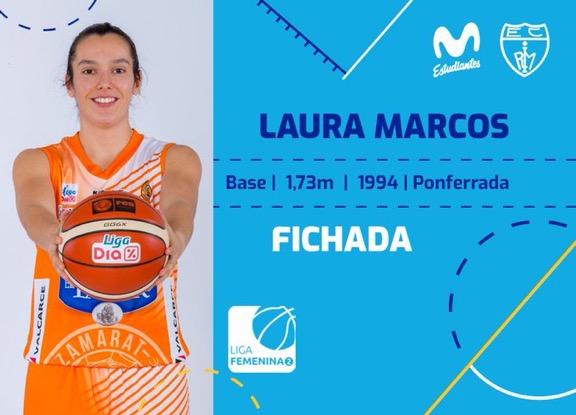 La Ponferradina Laura Marcos ficha por el Movistar Estudiantes 1