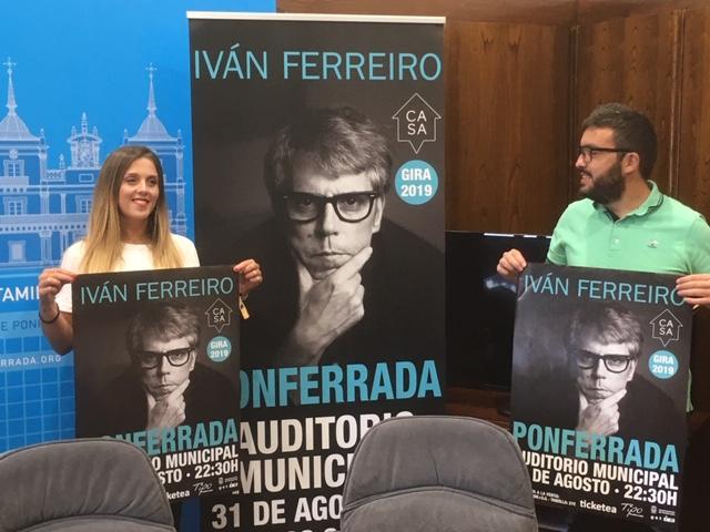 Ivan Ferreiro adelanta las Noches de la Encina al sábado 31 de agosto 1