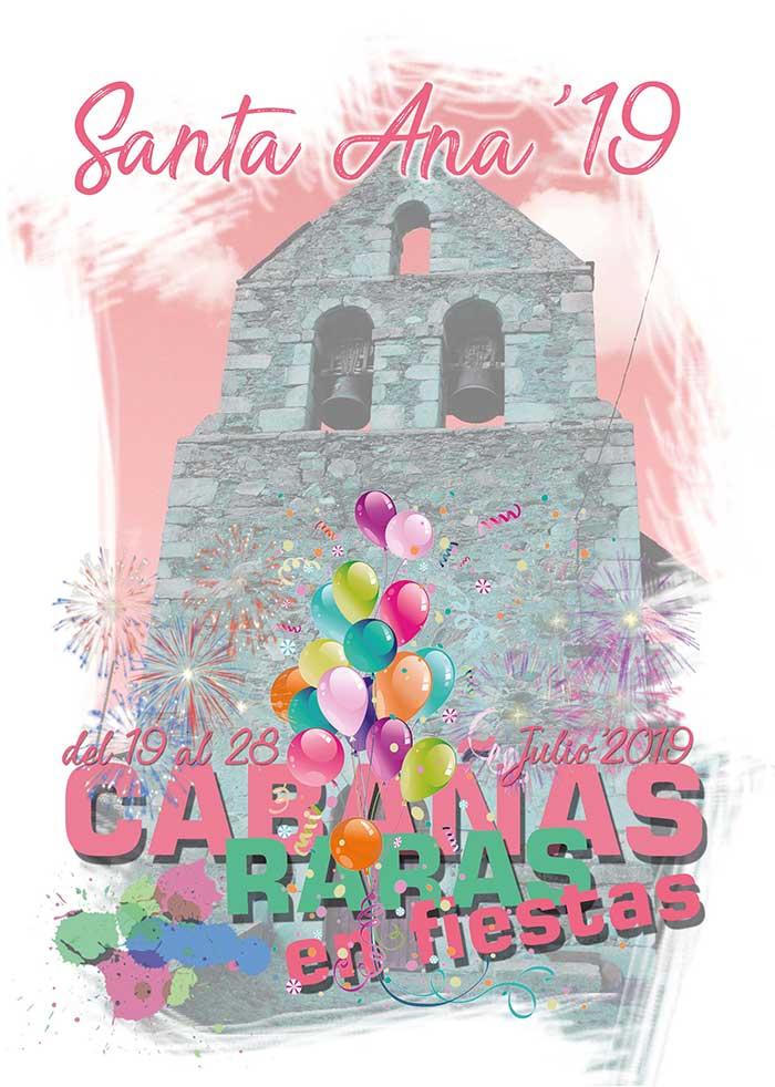 FIestas de Santa Ana en Cabañas Raras. 19 al 28 de julio 1