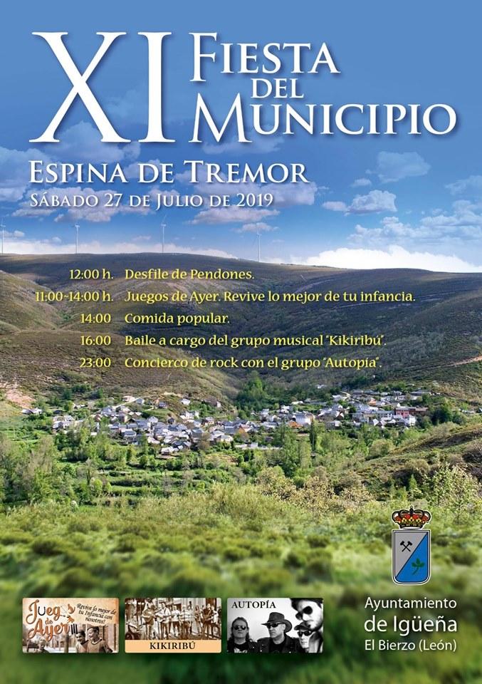 Espina de Tremor celebra la XI Fiesta del Municipio 1