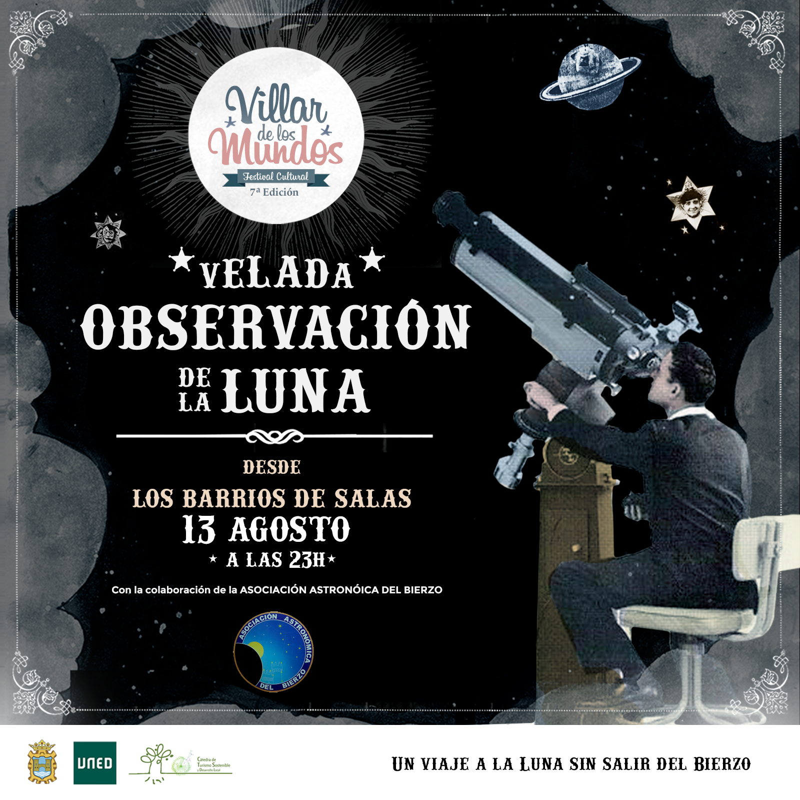 Observación de la Luna desde Los Barrios 1