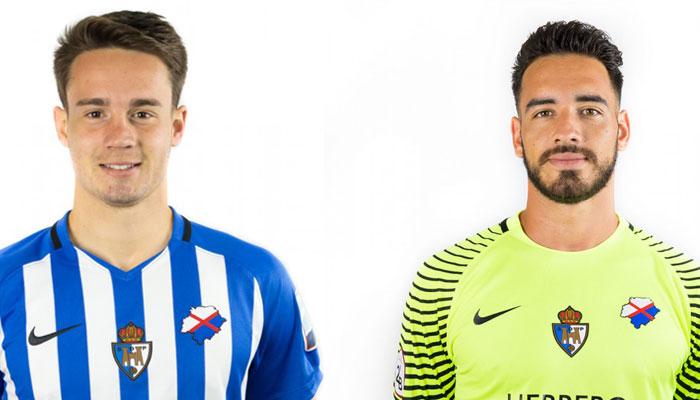 Pablo Larrea y Gianfranco Gazzaniga renuevan su contrato con la SD Ponferradina 1