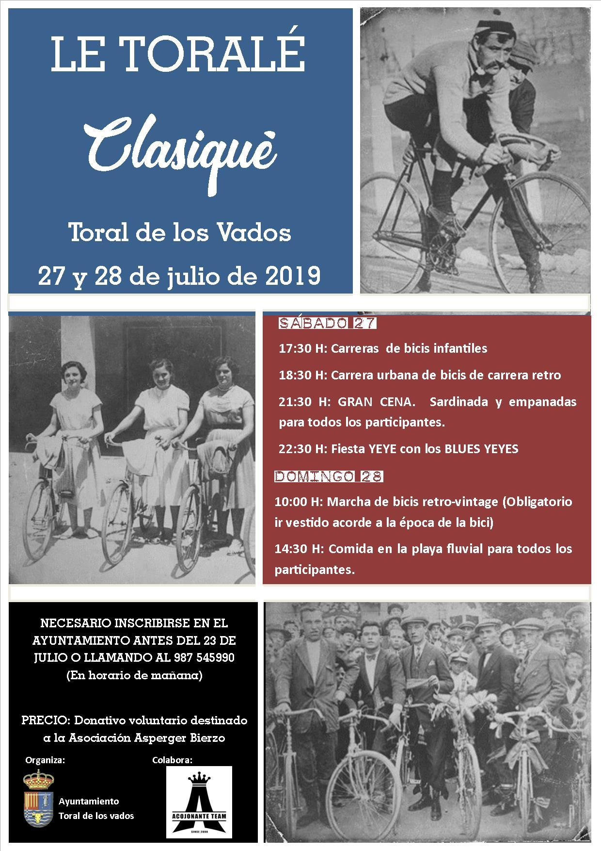 Le Torale Clasique 2019 de Toral de los Vados recupera las bicis de nuestros antepasados 1