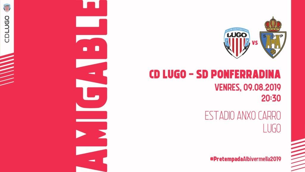 La Ponferradina regala Invitaciones a los socios para el partido de pretemporada ante el CD Lugo 1