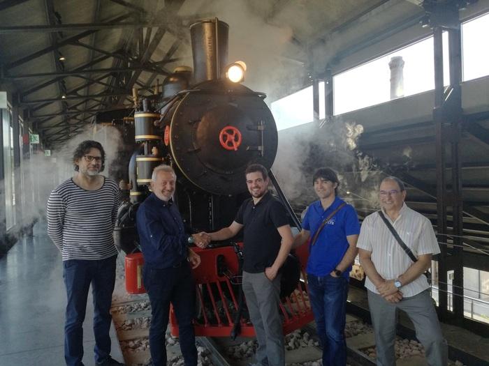 El Museo de la Energía y Cultural Ferroviaria Berciana cierran un acuerdo de colaboración 1