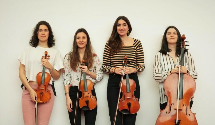 El cuarteto Artesis llega de Bruselas para ofrecer en Corteza de Encina obras de Ravel y Glazunov 1