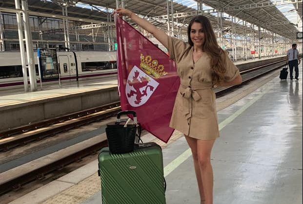 La ponferradina Claudia Franesqui representará a León en el certamen Miss World Spain 2019 en Melilla 1