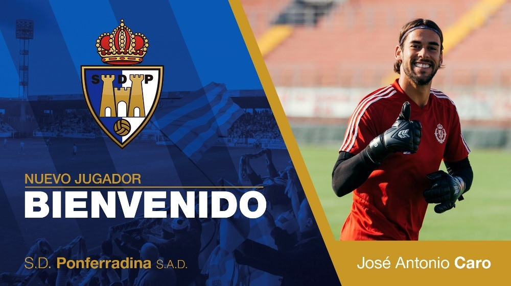 OFICIAL- El portero José Antonio Caro se une a la Deportiva 1