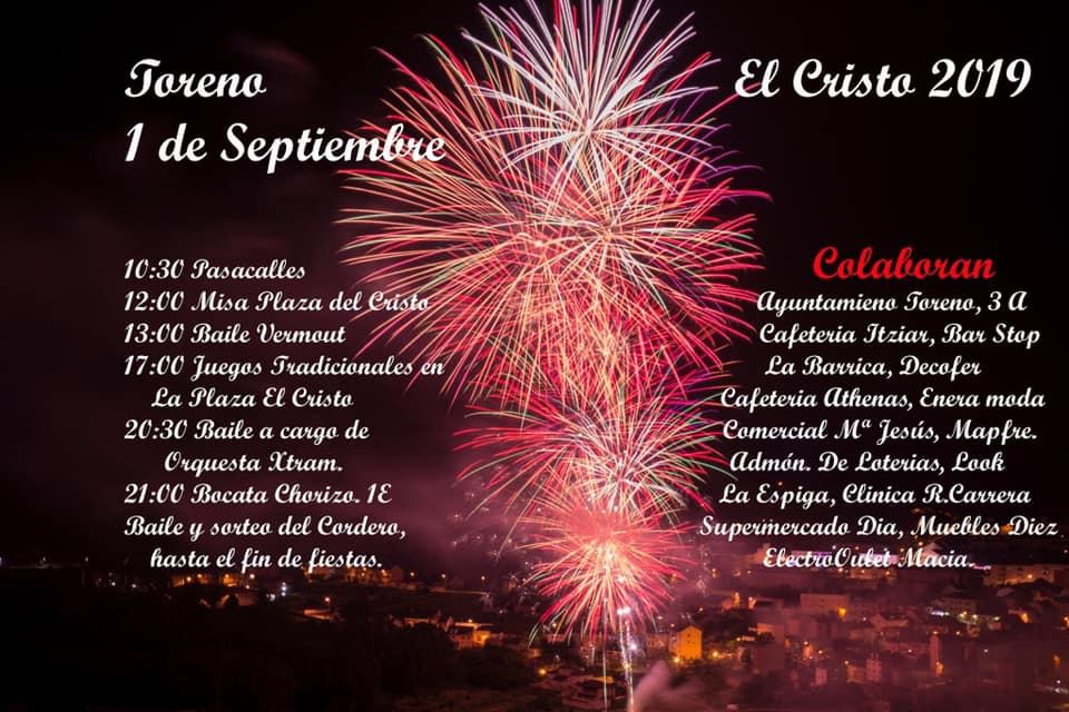 Toreno celebrará el Cristo el próximo 1 de septiembre por iniciativa vecinal 1