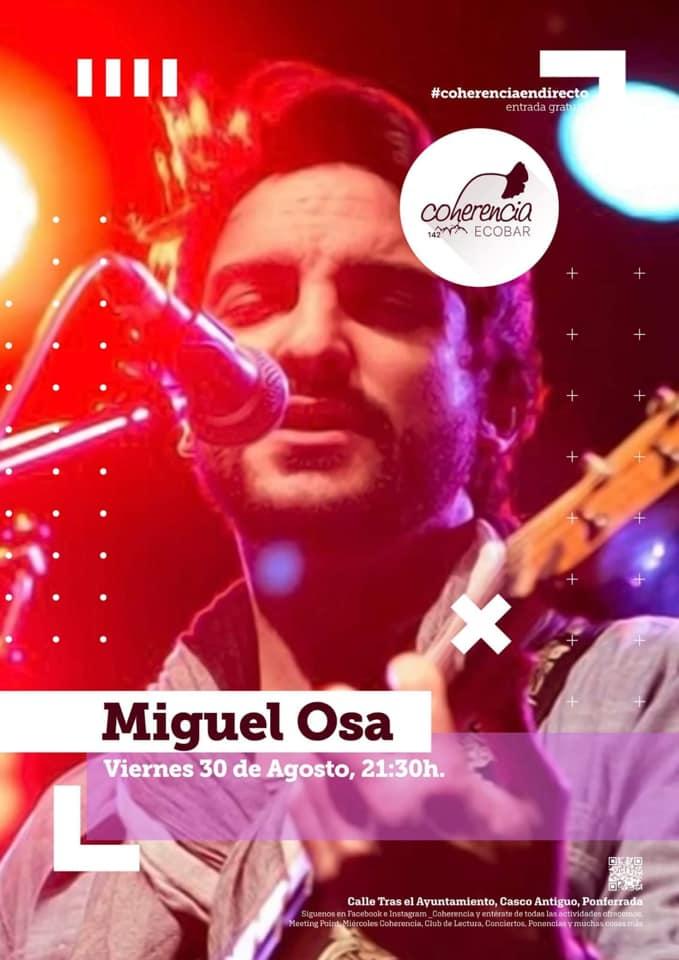 Concierto de Miguel Osa en Coherencia Bar 1