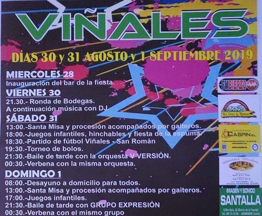 Fiestas en Viñales. 28 de agosto al 1 de septiembre 2019 1