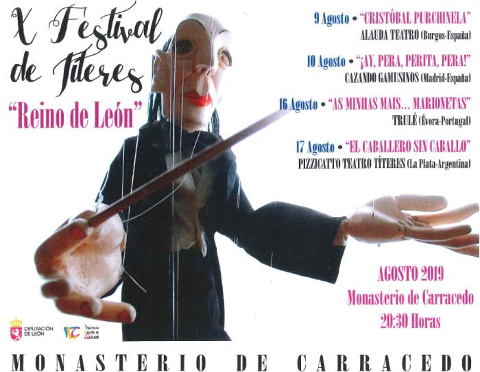 X Festival de Títeres «Reino de León» – «CRISTOBAL PURCHINELA» en Carracedelo 1
