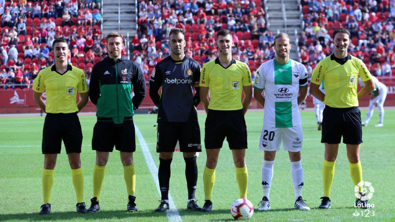 El colegiado Álvaro Moreno Aragón, árbitro del primer encuentro de la Ponferradina en la liga SmartBank 1