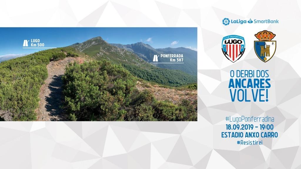 Dónde ver el Lugo - Ponferradina de la Jornada 6 de LaLiga SmartBank 2019 - 2020 1