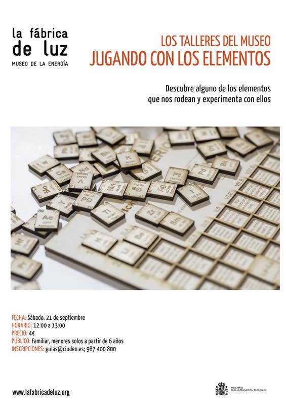 """Los Talleres del Museo: """"Jugando con los elementos"""" 1"""