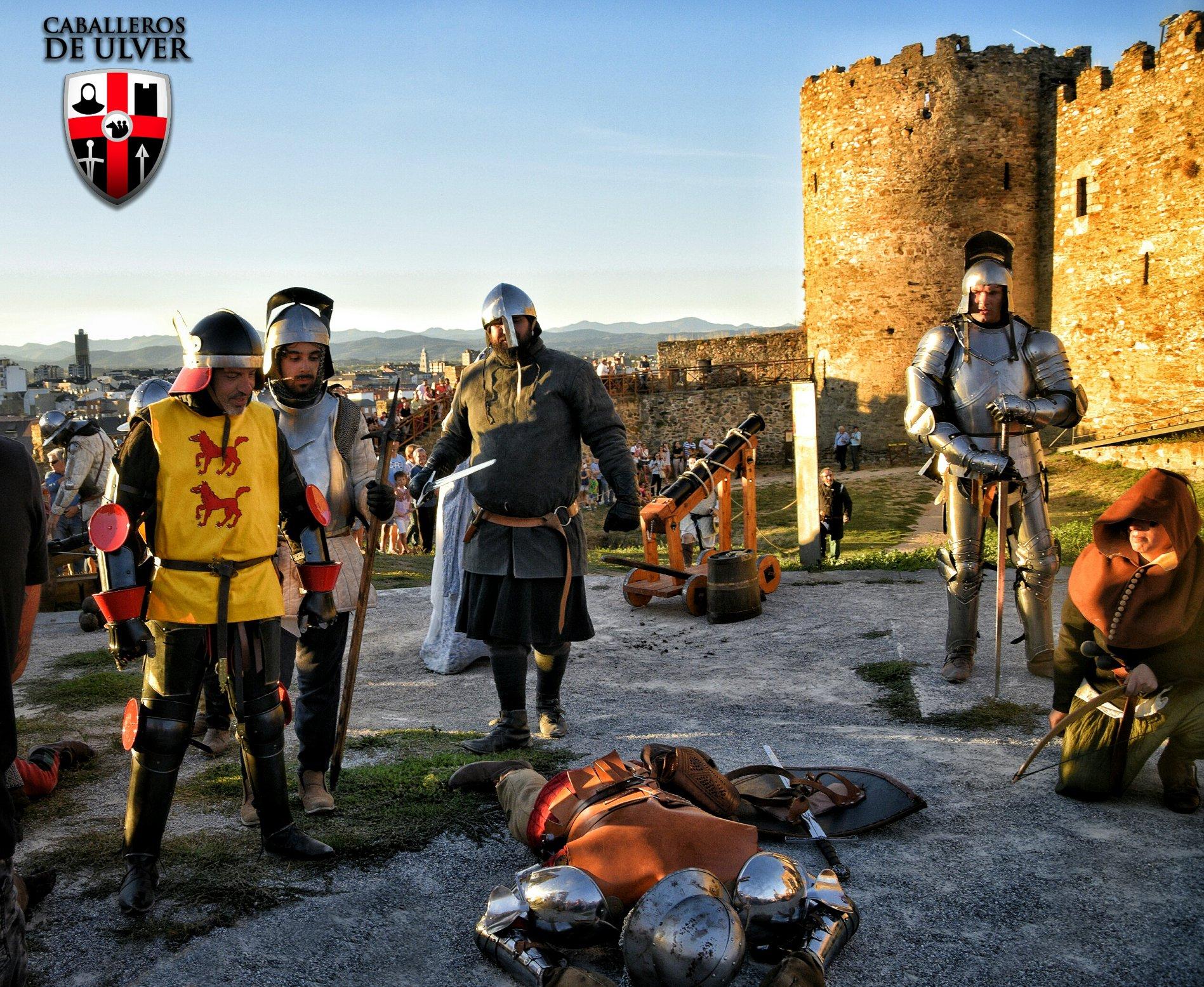 Las recreación de las Revueltas irmandiñas, trasladará el Castillo de Ponferrada al medievo el próximo fin de semana 1