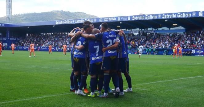 La Ponferradina sabe reaccionar a un marcador adverso ante el Oviedo y resuelve con victoria el encuentro 1
