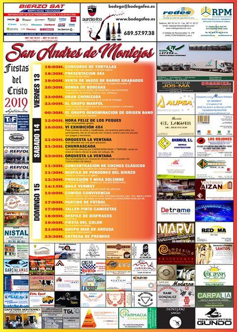 Grandes Fiestas en San Andrés de Montejos 1